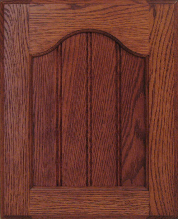 Manorhouse Oak Coventry with 3/8 inch Beaded and a 30 LIP Edge Profile