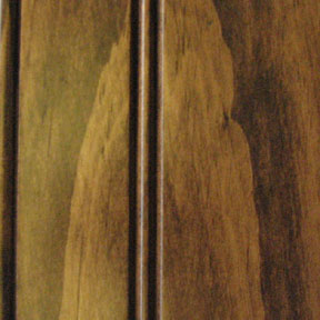 Knotty Pine w/Ginger Stain