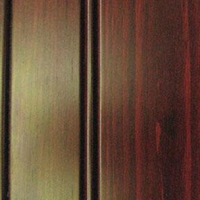 Knotty Pine w/Mahogany Stain
